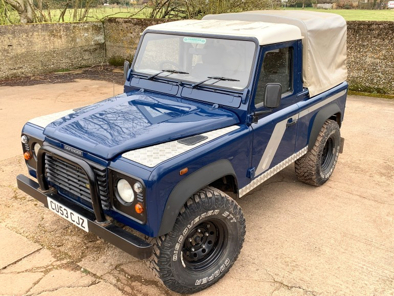 2003 DEFENDER 90 TD5 PICKUP FOR SALE AT MOTODROME