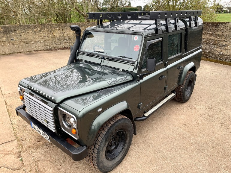 2006 DEFENDER 110 TD5 XS DOUBLECAB WITH HIGH SPEC INC STAGE 2 UPGRADE for sale at motodrome