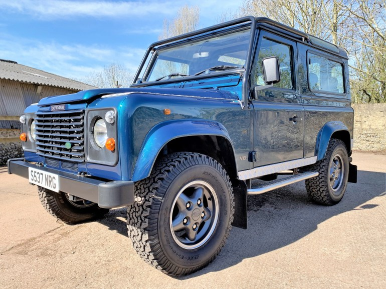land rover defender 90 50th anniversary for sale at motodrome