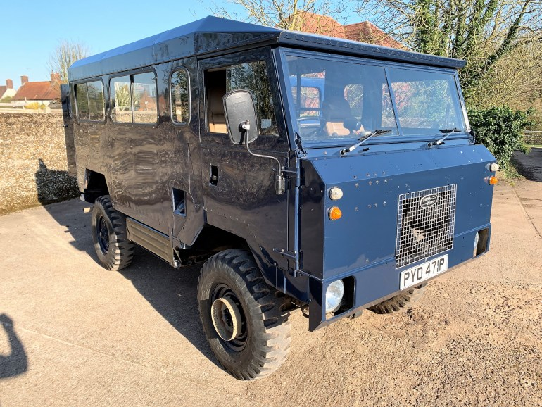 LAND ROVER 101FC GUNBUS/SHOOTING BUS CONVERSION FOR SALE AT MOTODROME