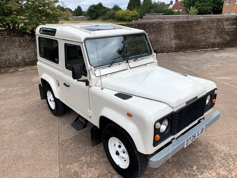 restored 1987 Land Rover 90 V8 CSW for sale at motodrome