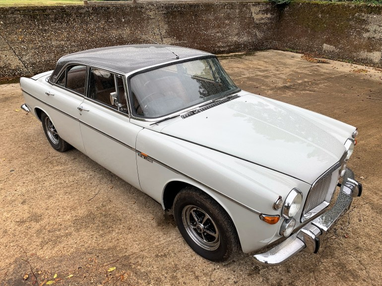 1972 Rover P5b Coupe 1 owner past 40 years £14995 FOR SALE AT MOTODROME
