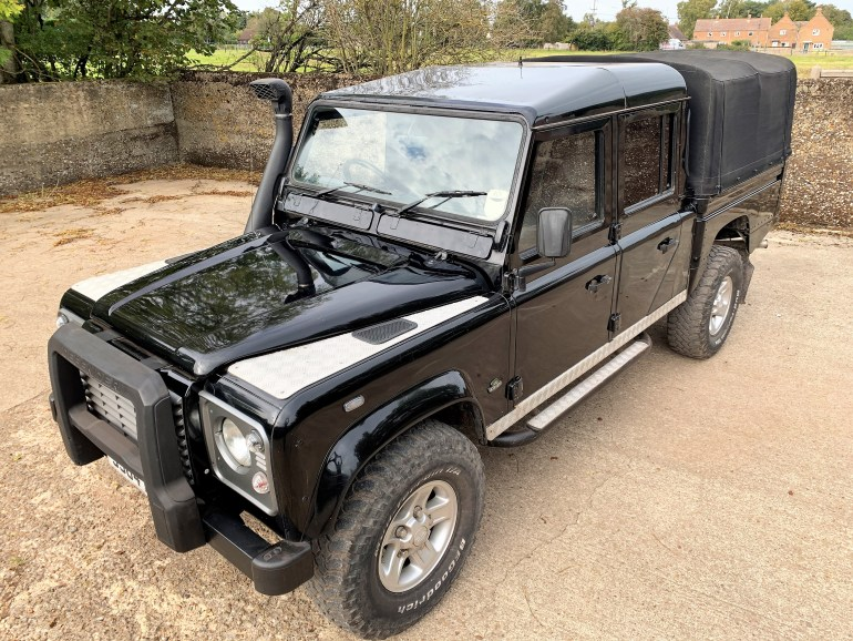 1998 land rover Defender 130 300TDi HiCap DoubleCab auto £17995 for sale at motodrome
