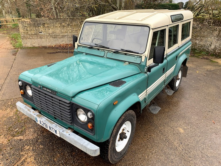 1983 Land Rover 110 V8 County Station Wagon £19995 FOR SALE AT MOTODROME