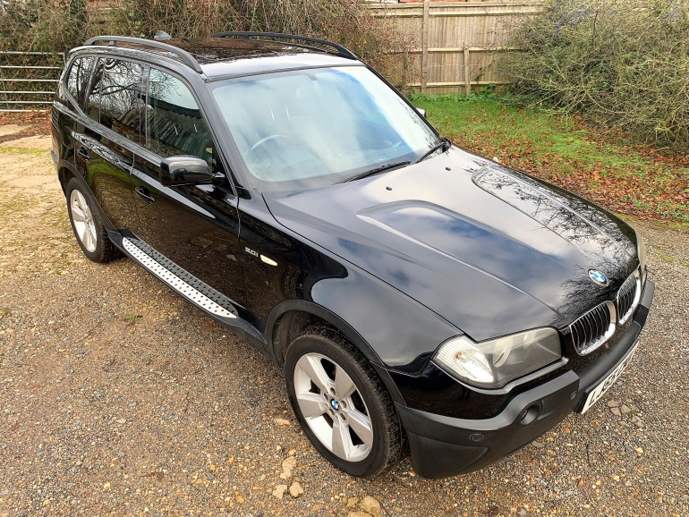 2005/55 BMW X3 3.0I SPORT AUTOMATIC £4995 FOR SALE AT MOTODROME
