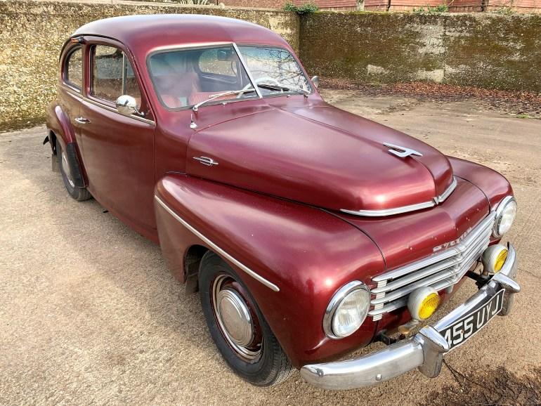 1953 VOLVO PV 544 E for sale at motodrome