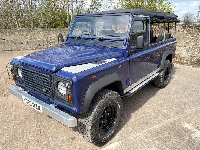 2011 LAND ROVER DEFENDER 110 TDCi SOFT TOP FOR SALE AT MOTODROME THE CLASSIC DEFENDER SPECIALISTS