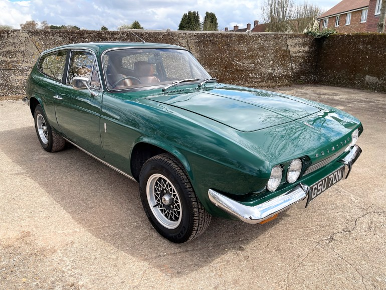 1975 RELIANT SCIMITAR SE5a MANUAL/OVERDRIVE FOR SALE AT MOTODROME