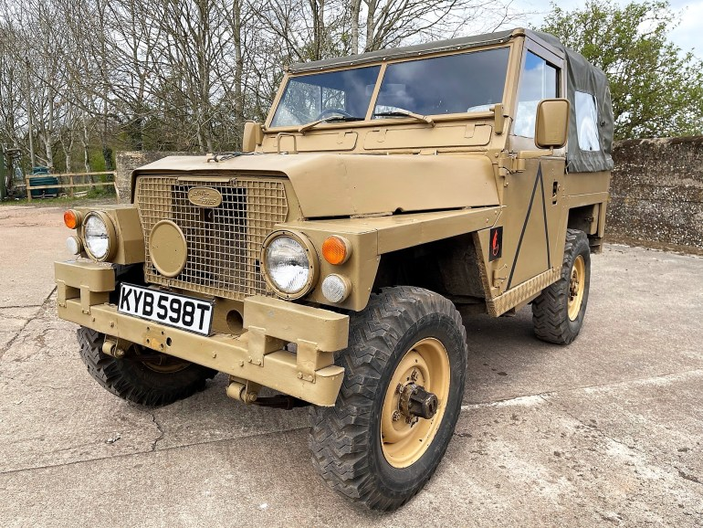 1979 LAND ROVER LIGHTWEIGHT 2.5 DIESEL FOR SALE AT MOTODROME THE CLASSIC LAND ROVER SPECIALISTS