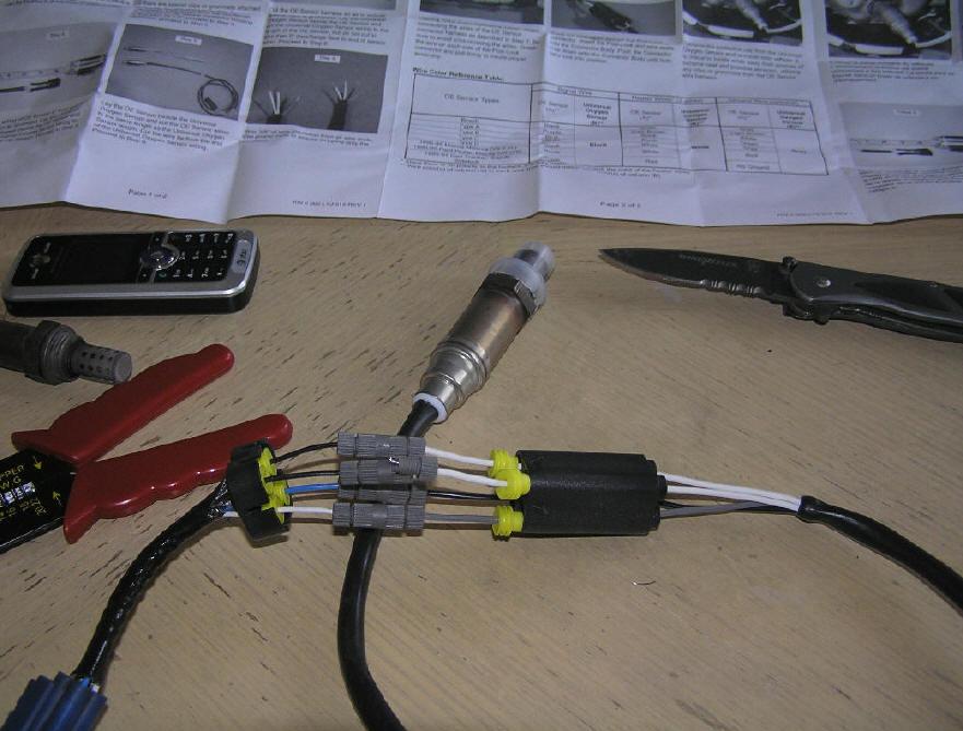 Universal Oxygen Sensor Wiring Diagram