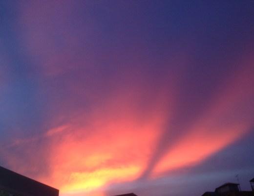 タイの夕日