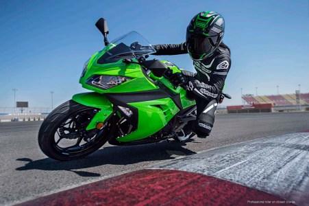 Conduire moto sportive