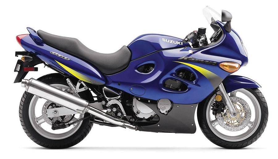 suzuki katana gsxf 600 2002 k2 full decals set blue version moto sticker com