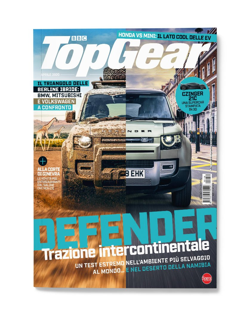 nuova copertina rivista TopGear Italia