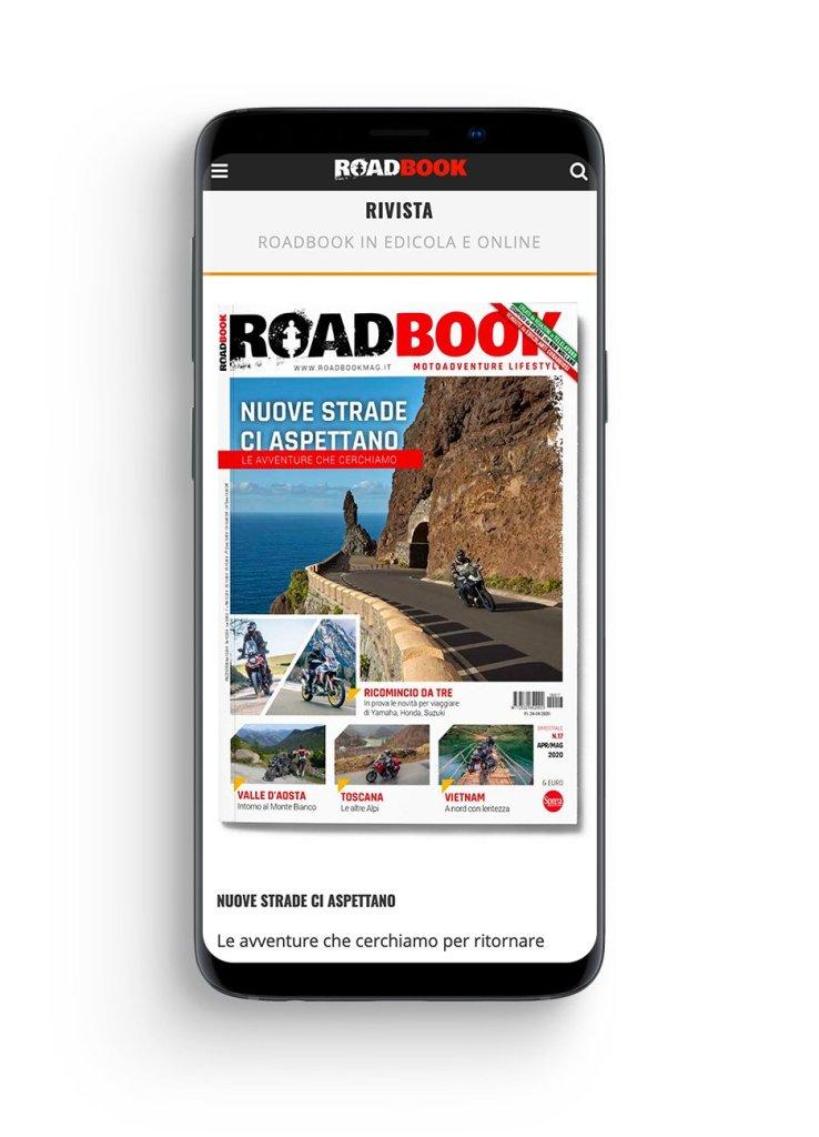rivista RoadBook mobile