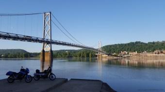 Aberdeen Simon Kenton Bridge MotoADVR