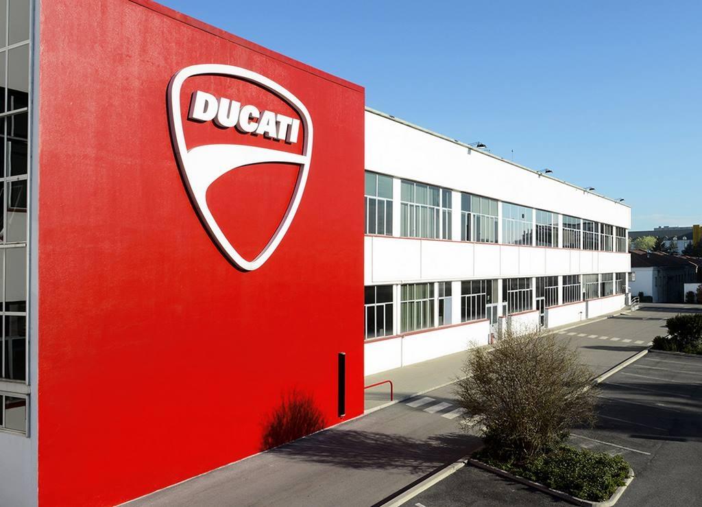 Coronavirus : Ducati ferme jusqu'au 25 mars !