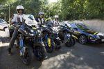 Yamaha Niken devant les millions de fans du Tour de France de cyclisme