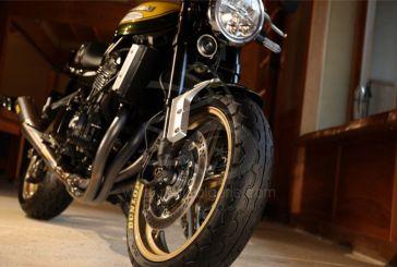 Nouveau pneu Rétro : Le Dunlop TT100 GP Radial