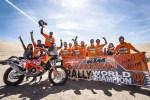 SAM SUNDERLAND ET KTM REMPORTENT LE CHAMPIONNAT DU MONDE FIM DE RALLYES CROSS-COUNTRY 2019