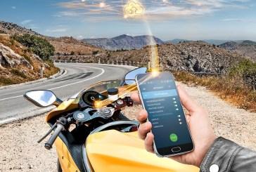 Continental présente un concept intégré de services connectés pour motos