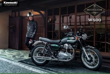 La gamme W de KAWASAKI s'agrandit avec la nouvelle W800 2020