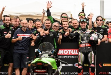 WSBK : Le Kawasaki Racing Team sacré Meilleure Équipe !