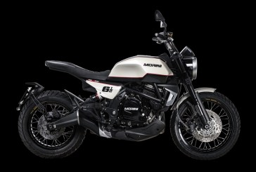 Moto Morini présente la nouvelle Seiemmezzo