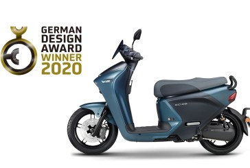 Le Yamaha EC-05 gagnant au concours international de design «German Design Award 2020»