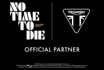 Les TRIUMPH TIGER 900 et SCRAMBLER 1200 dans le nouveau JAMES BOND 2020