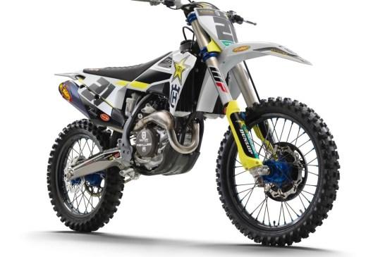 HUSQVARNA MOTORCYCLES LAUNCH THE 2020 FC 450 ROCKSTAR EDITION