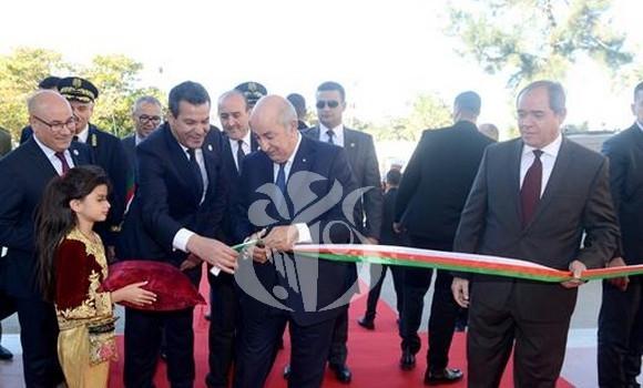 Le président de la République Abdelmadjid Tebboune inaugure la 28ème Foire de la production Algérienne
