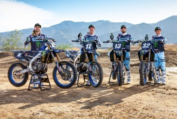 Monster Energy Star Yamaha Racing annonce son équipe Supercross 2020