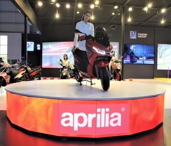 Aprilia SXR 160 India 2020