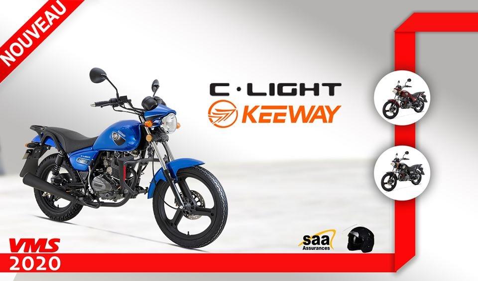 Keeway Algérie : Nouvelle C-Light 125, aux normes Euro3 !