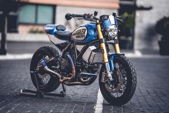 Custom Rumble 2020 - Scrambler 1100 FT by Marco Graziani of CC Racing Garage 1