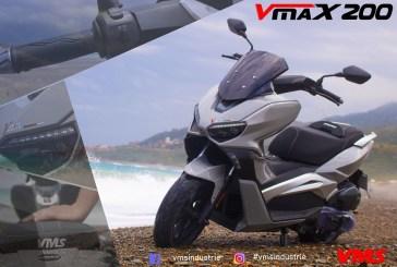 VMS Industrie lance le nouveau Maxi-Scooter : VMS VMAX 200 !