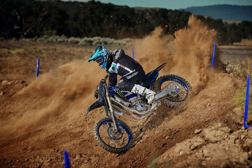 Nouvelle série spéciale Monster Energy YZ250F / YZ450F inspirée des Yamaha d'usine