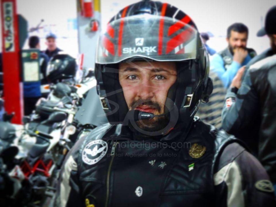 Med Nassim Takarli - gagnant Jeu#4 Ariete - Moto Algérie