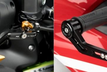 Puig : Nouveau protecteur de levier de frein au style MOTO GP