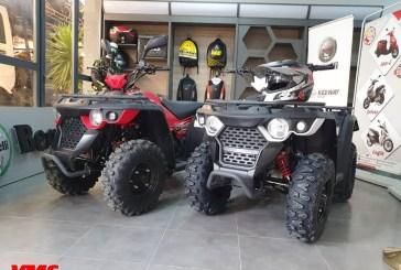 VMS Industrie : Retour du Quad Linhai Grizzly M150 !