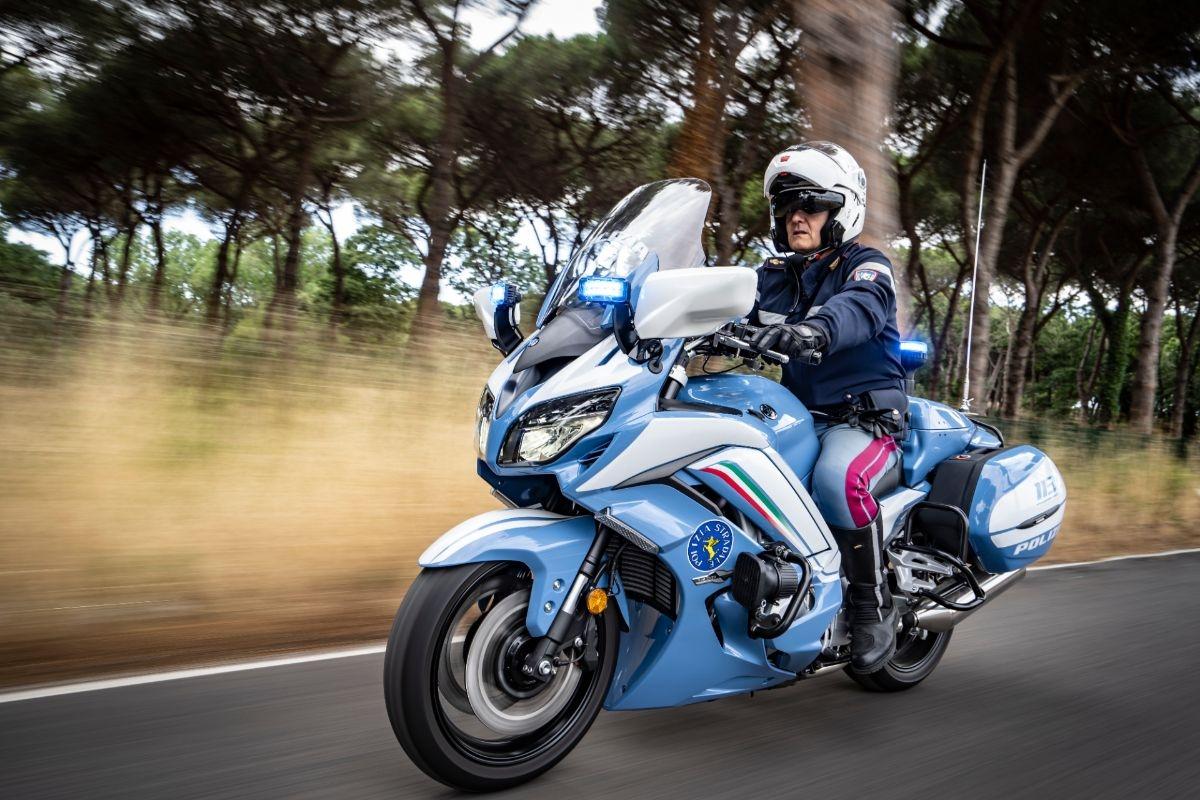 Des Yamaha FJR pour la police nationale italienne !