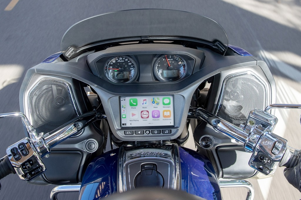 Indian Motorcycle annonce l'intégration d'Apple CarPlay