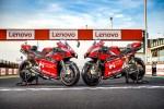 """Ducati dévoile les carénages personnalisés avec le logo Motor Valley de la Desmosedici GP20 qui courra sur le circuit mondial de Misano """"Marco Simoncelli""""."""