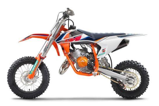 KTM 50 SX Factoy Edt 2021_left
