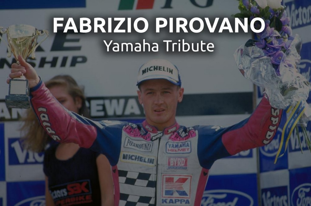 Yamaha rend hommage à Fabrizio Pirovano à Estoril