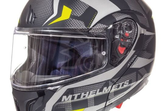 MT Helmets ATOM SV Divergence A12 MATT GRAY