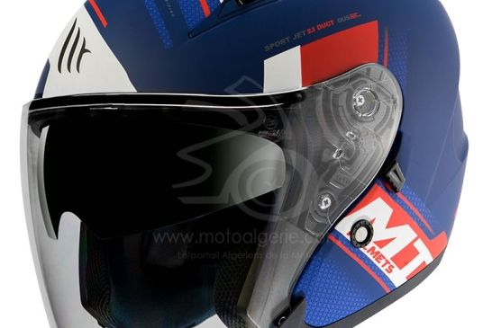 MT Helmets AVENUE SV SIdeway J0 MATT PEARL WHITE