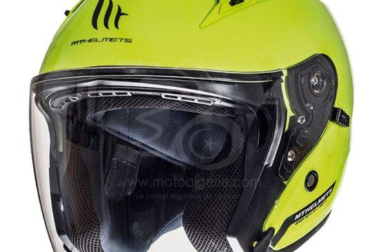 MT Helmets AVENUE SV Solid A3 GLOSS FLUOR YELLOW