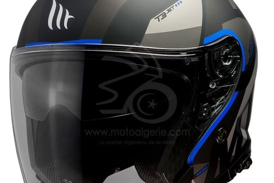 MT Helmets THUNDER 3 SV JET Bow A7 MATT BLUE
